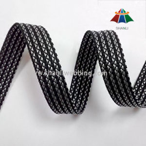 18mm Black White Striped Polypropylene Webbing pictures & photos