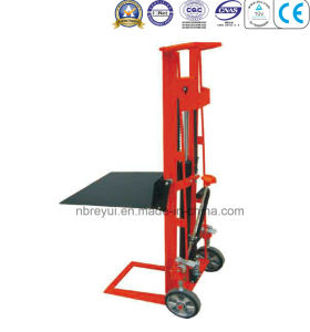 340kg (2-wheeled Platform) Manual Lift Truck pictures & photos