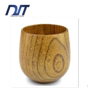 Wholesale Custom Logo New Handmade Wood Coffee Mug