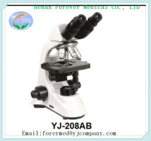 Yj-208ab Cell Viewing Microscope Lab Optical Instrument pictures & photos