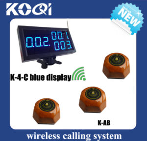 CE Approved 433.92MHz Number Calling System for Hospital Restaurant pictures & photos