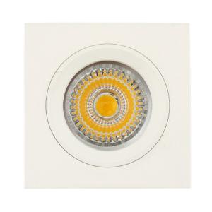 Die Cast Aluminum GU10 MR16 G5.3 White Square Fixed Recessed LED Light (LT1105) pictures & photos