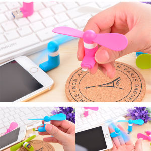 Promotion Gift High Speed Mini Mini Air Conditioner USB Fan for iPhone in Summer pictures & photos