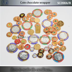 Chocolate Coin Foil Wrapping Machine (SC200A) pictures & photos