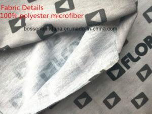 Custom Logo Fullover Printed Microfiber Multifunctional Seamless Neck Tubular Scarf pictures & photos