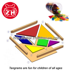 Tangrams Puzzle Game Toy (ZHG007) pictures & photos