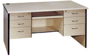 2015 Table Furniture School Teacher Table Desk with Drawers (CP-178) pictures & photos