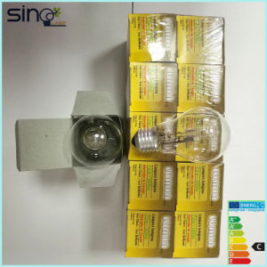 A60 220-240V Clear Halogen Saving Lamp pictures & photos