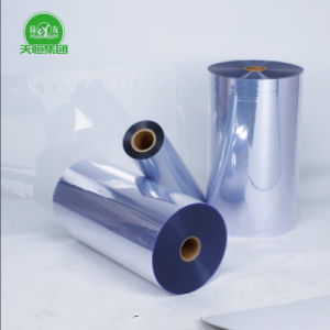 Glass Clear Rigid Taiwan Material Plastic Sheet PVC pictures & photos