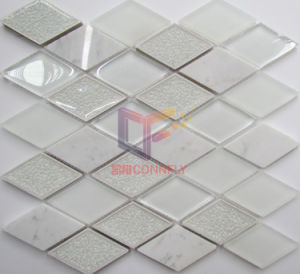 White Glass Marble Mix Mosaic (CS247) pictures & photos