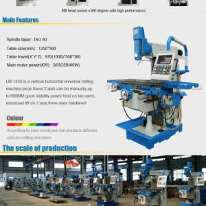 Machine Tool Equipment Lm1450 High Precision China Milling Machine pictures & photos