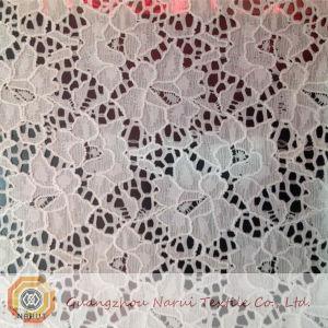Bridal Cotton Stretch Lace Fabric Wholesale (M0509) pictures & photos