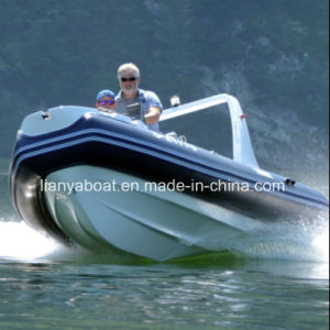 Liya 5.2m Inflatable Rib Boat for Sale Hypalon Rib Boat with Engine pictures & photos