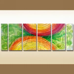 Wholesale Handmade Aluminum Painting Design