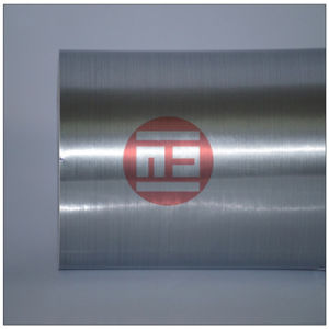 Brushed Silver Color Vinyl Film.