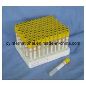 Medical Disposable Vacuum Blood Collection Clot Activator Tube pictures & photos