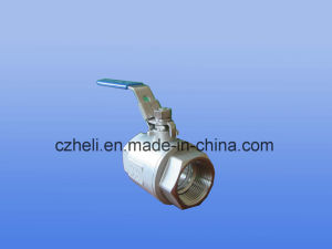 2PC Ball Valve Ss316 F/F pictures & photos