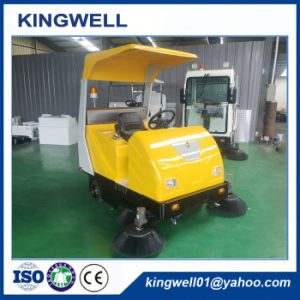 Hot Sale Electric Industrial Road Sweeper with Best Price (KW-1760C) pictures & photos