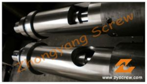 DC53 Screw and Bimetallic Liner Barrel for Nylon with Glassfiber pictures & photos