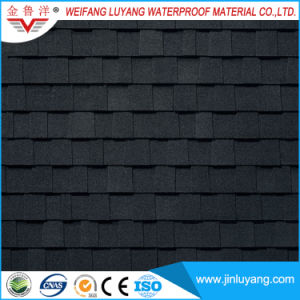 Africa Popular Colorful Double Layer Asphalt Roofing Shingle for Villa