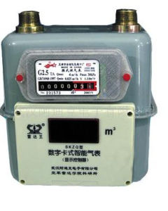 Household Steel Case Diaphragm Gas Meter G1.6/ G2.5/G4 pictures & photos