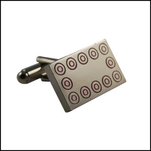 High Quility Metal Cufflink, Square Cufflink (GZHY-XK-024) pictures & photos