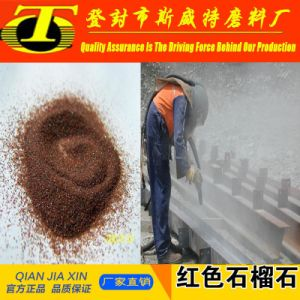 Waterjet Abrasive 20*40 Mesh Garnet Sand pictures & photos