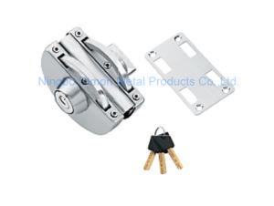 Dimon Sliding Glass Door Lock Single Door Double Cylinder Central Lock (DM-DS 98-4) pictures & photos
