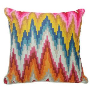 Digital Printed Fashion Decorative Chenille Pillow Case