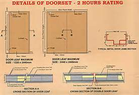 Wooden Fire Door with Excellent Quality and Grate Market pictures & photos
