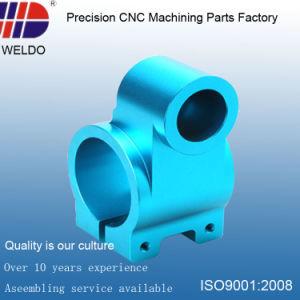 China Factory Blu Anodize OEM Aluminum Precision Machinery CNC Parts pictures & photos