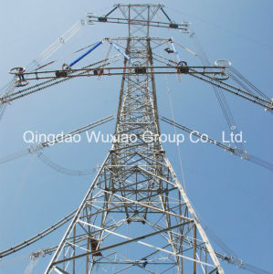 Power Distribution Electric Angle Steel Tower pictures & photos