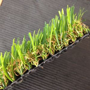 15600tuft Density 2mm-3mm Height Four Color Artificial Turf Grass pictures & photos