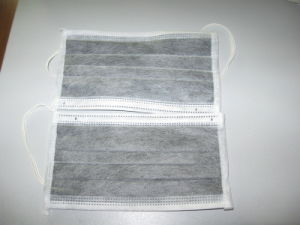 4ply Active Carbon Nonwoven Face Mask pictures & photos
