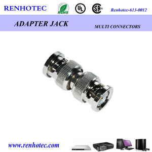 Double BNC Male Plug to Plug Adapter pictures & photos
