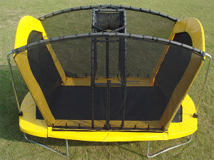 The Super Hot Sale Trampoline with Basketball Hoops pictures & photos