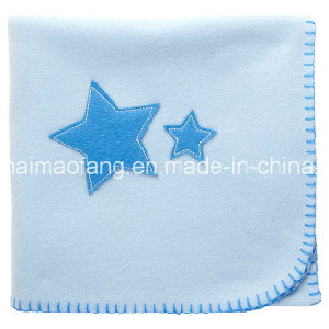 Anti-Pilling Polar Fleece Baby Blanket (NMA-PB012) pictures & photos
