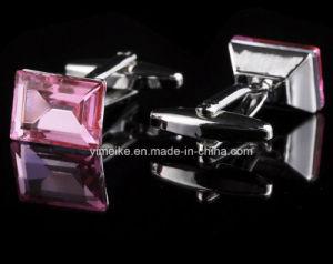 Novelty Geometric Zircon Cufflinks for Mens Suit Wholesale pictures & photos