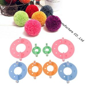 4 Sizes Fluff Ball Weave Needlecraft Small POM POM Maker pictures & photos