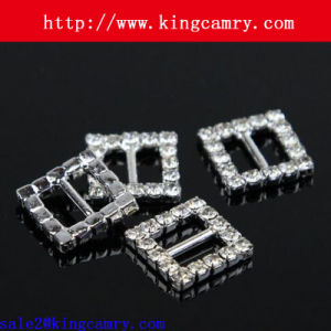Factory Design Custom Metal Rhinestone Craft Bag Buckle/ Ring pictures & photos