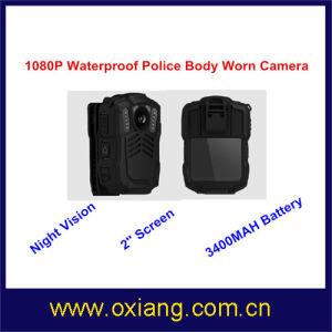 WiFi 4G Police Wearable Body Camera Built in GPS GPRS Bluetooth pictures & photos