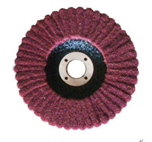 Abrasive Upright Non-Woven Flap Disc pictures & photos