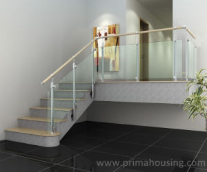 Stair Stainless Steel Glass Balustrades pictures & photos