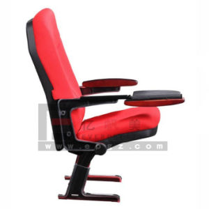High Quality Foldable Auditorium Chair Used for Music Hall & Cinema& Banquet pictures & photos