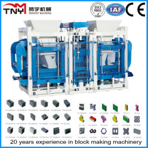 Promotion Hydraulic Pressure Concrete Block Machine with Top Quality Qt12-15 pictures & photos