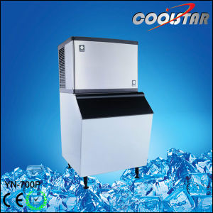 Commercial Water Flowing Mode Ice Cube Maker pictures & photos