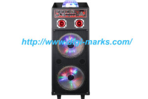 New WiFi Wireless Bluetooth DJ Karaoke Speaker with Light pictures & photos