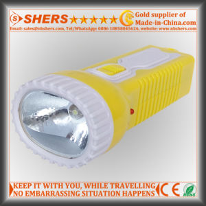 Solar Rechargeable 1W LED Flashlight for Searching, Hunting (SH-1934) pictures & photos