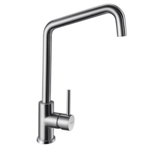 Oppein Brush Stainless Steel SUS304 Kitchen Faucet (OP-ST25) pictures & photos