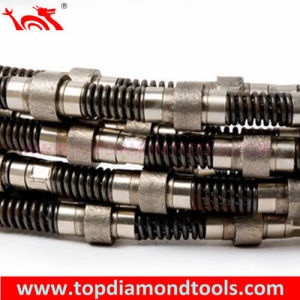 Diamond Wire Saw for Marble Quarry Cutting pictures & photos